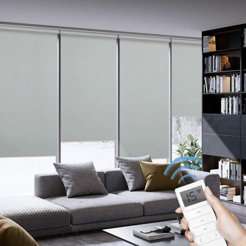Graywind Motorized Roller Shades