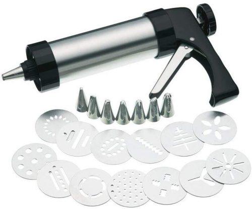 3. HUAFA Cookie Biscuit Press/Icing Decorating Gun Sets