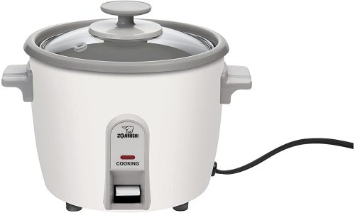 10. Zojirushi NHS-06 3-Cup (Uncooked) Rice Cooker