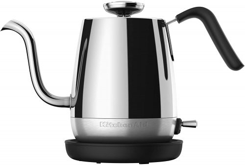 1. KitchenAid KEK1025SS Precision Gooseneck Electric Kettle - Stainless Steel Kettle