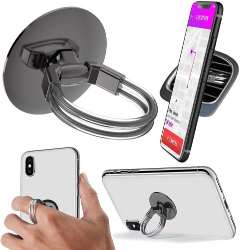 7. Aduro Cell Phone Ring Holder, 3 in 1 Universal Phone Ring Stand