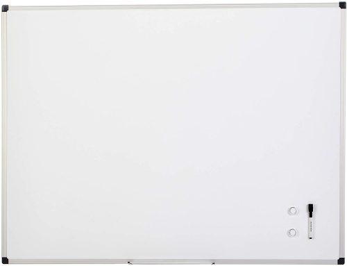 8. AmazonBasics Magnetic Framed Dry Erase White Board