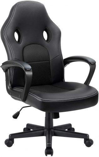 8. Furmax Office Chair Desk Leather Gaming Chair