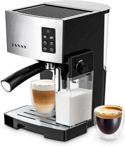 9. JASSY Espresso Machine, Multifunction Coffee Machine