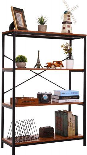 4. Home vol Bookcase Open Bookshelf Book Shelves