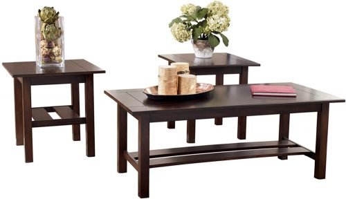 3. Lewis Contemporary Table set