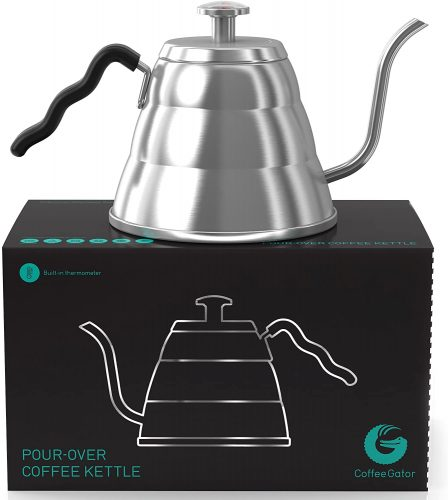 3. Gooseneck Kettle - Coffee Gator Pour Over Kettle