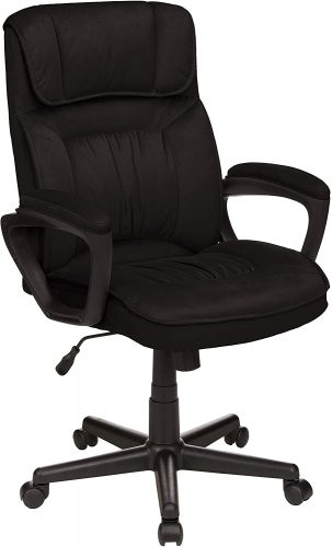 7. AmazonBasics Classic Office Desk Computer Chair
