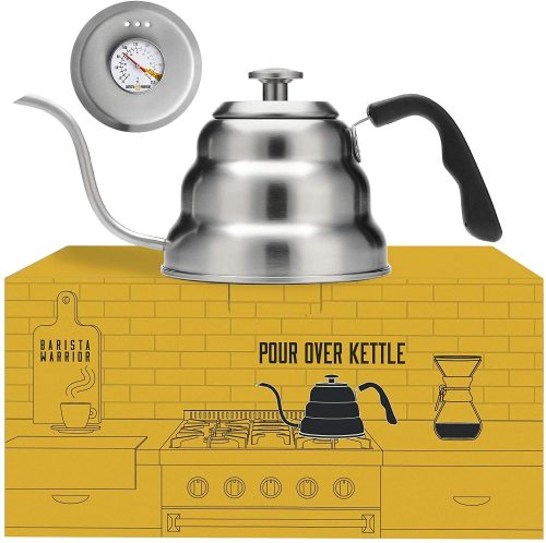 6. Pour Over Coffee Kettle with Thermometer for Exact Temperature