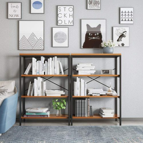6. Nakey 3-Tier Bookcase