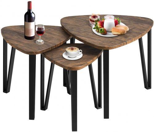 7. Kealive Nesting Coffee Table set