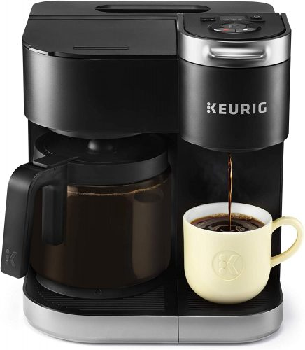 1 Keurig K-Duo Coffee Maker, Single Serve, and 12-Cup Carafe Drip