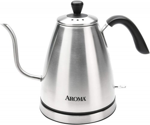 9. Aroma Housewares Professional AWK-210SB Electric Water Kettle