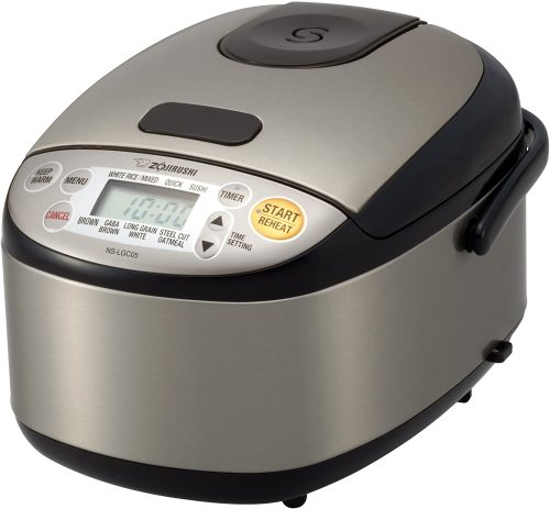 3. Zojirushi NS-LGC05XB Micom Rice Cooker & Warmer