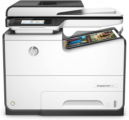 1. HP PageWide Pro 577dw Color Multifunction Business Printer - Duplex Printing