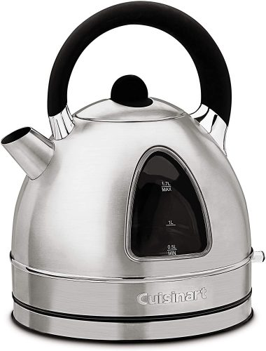 1. Cuisinart DK-17 Cordless Stainless Steel Electric Kettle
