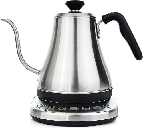 4. Gooseneck Electric Kettle with Temperature Control & Presets