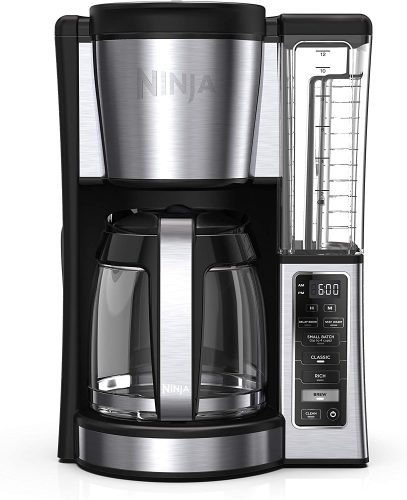 2. Ninja CE251 Programmable Brewer, with 12-cup Glass Carafe