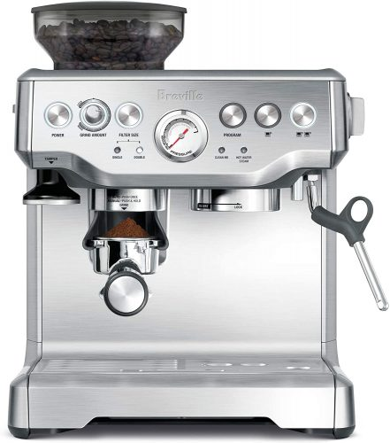 1. Breville the Barista Express Espresso Machine