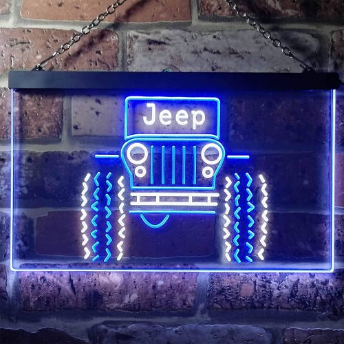 5. ZAKAKU Only in a Jeep Truck Garage Two Color