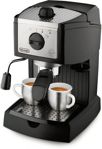 5. De'Longhi EC155 15 Bar Pump Espresso and Cappuccino Maker