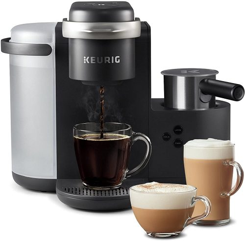 3. Keurig K-Cafe Coffee Maker, Single Serve K-Cup Pod Coffee