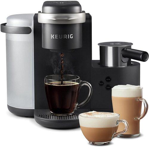 2. Keurig K-Cafe Coffee Maker, Single-Serve K-Cup Pod Coffee