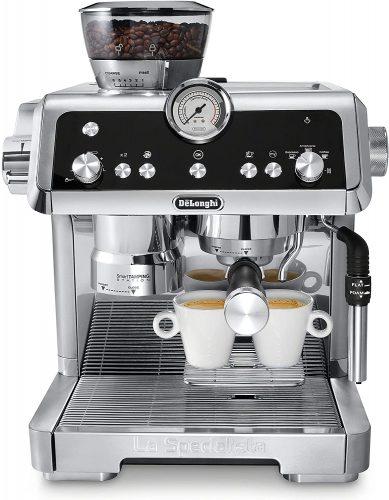 7. De'Longhi La Specialista Espresso Machine with Sensor Grinder
