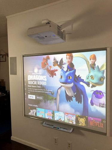 5. Electronic Whiteboard SBM680 with Projector Combo
