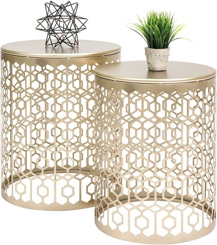 6. Best Choice Round Side End Table