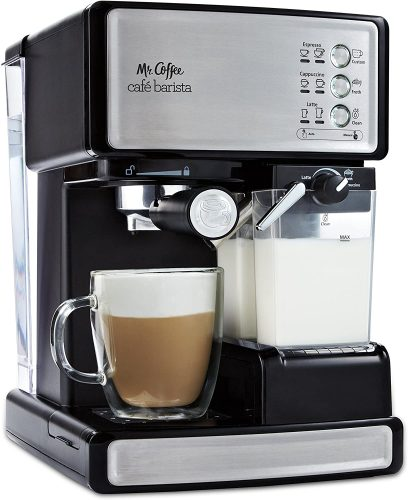 4. Mr. Coffee Espresso and Cappuccino Maker