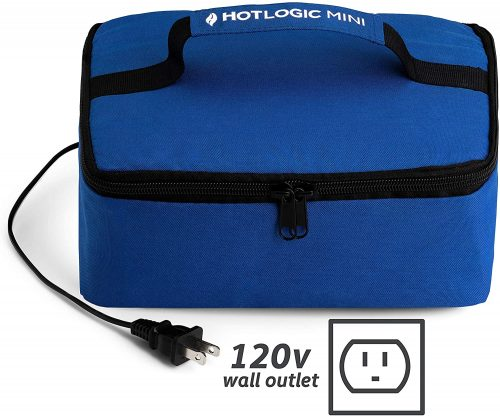 5. Hot Logic 16801060004 Food Warming Tote, Lunch, Blue