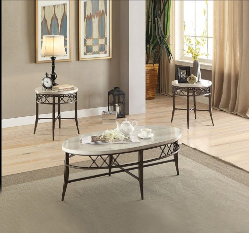 10. ACME Aldric Coffee and End Table