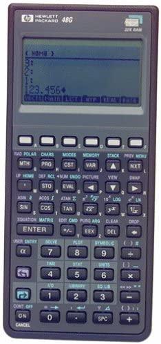 HEWLETT PACKARD HP 48G Graphing Calculator