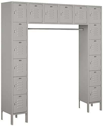 Salisbury Industries 66016GY-U Six Tier Box - Storage Locker