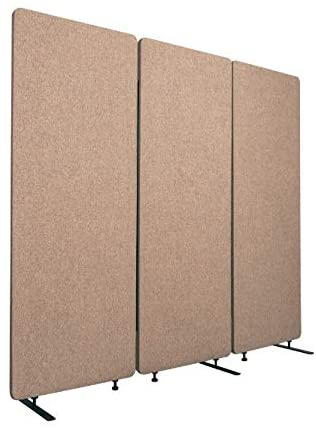 3. ReFocus Acoustic Room Dividers - Office Partition