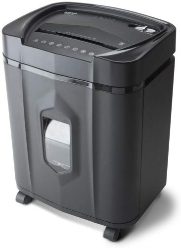Aurora AU1415XA 14-Sheet Crosscut Paper/CD - Heavy Duty Paper Shredder