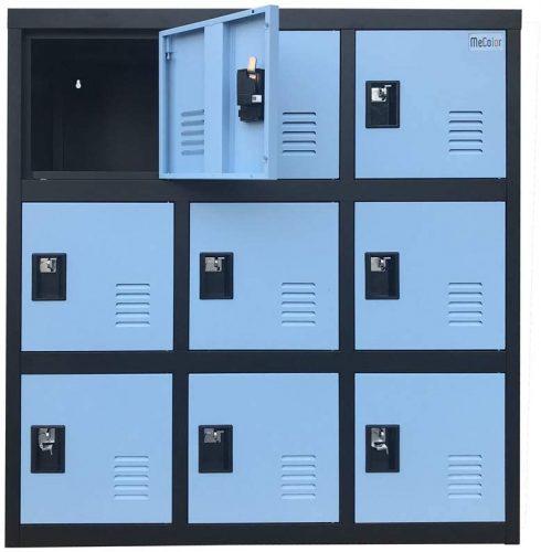 Small Metal Safe Cabinet Locker - Storage Locker
