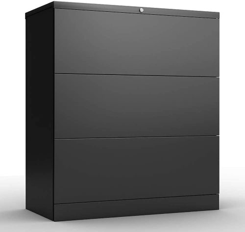 3. AOBABO 3 Drawer Lateral File Cabinet
