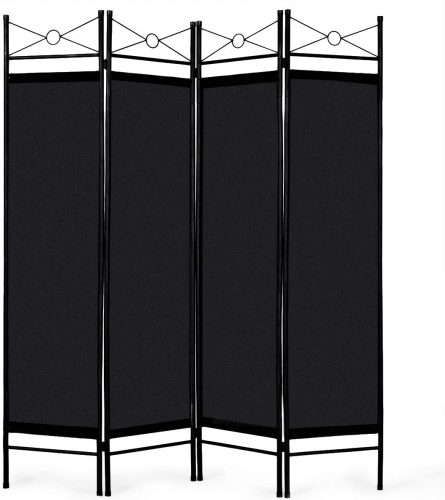1. Giantex 4 Panel Room Divider - Office Partition
