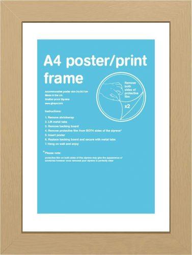 4. GB eye FMA4A1Ok Oak frame