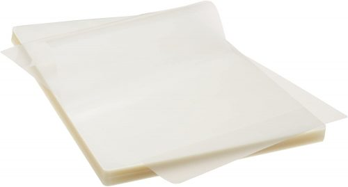 4. AmazonBasics Letter Size Sheets Laminating Pouches - Laminate Sheet