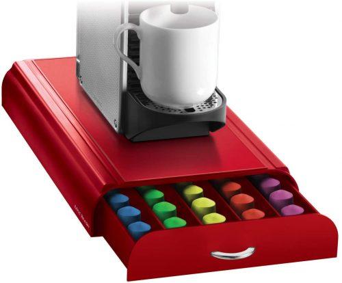 Mind Reader CAPS36-RED 50 Nespresso Capsule