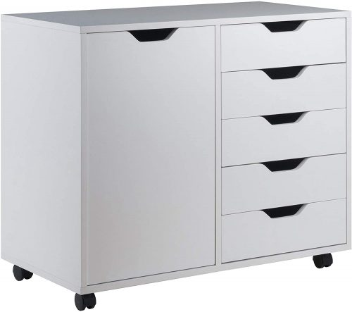 5. Winsome Wood Cabinet - Office Furniture Clearance