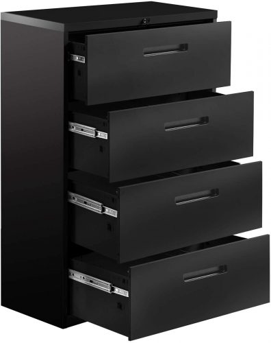 AOBABO 4 Drawer Lateral File Cabinet