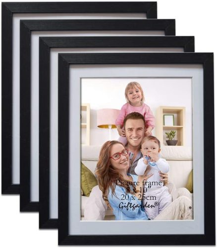 Giftgarden Black 8x10 Picture Frame Wall Decor for 8