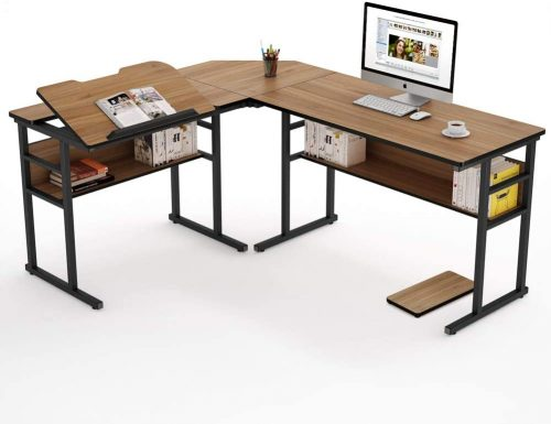 9. Tribesigns Modern L-Shaped Desk