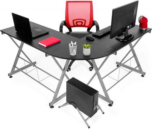 Best Choice Products Modular L-Shape Desk - Modular Office Furniture