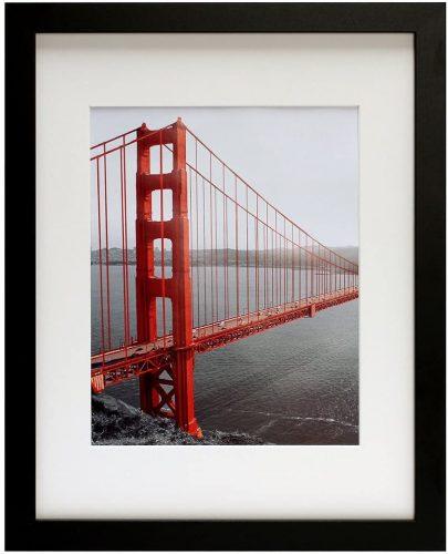 6. Frametory, 11x14 Black Picture Frames
