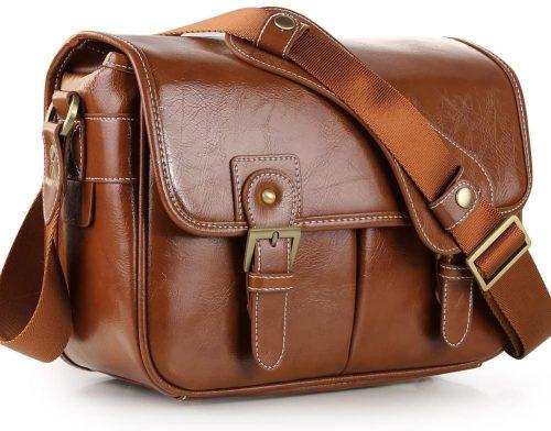 Koolertron Waterproof Vintage Fashionable PU Leather